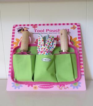 Little Pals Werkzeugtasche für Kinder in rosa