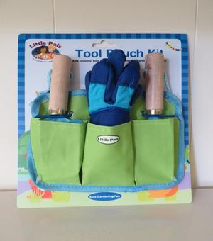 Little Pals Werkzeugtasche für Kinder in grun