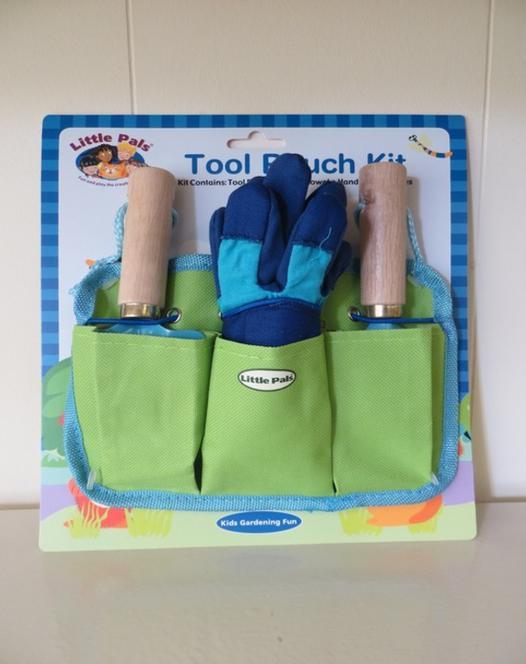 Little Pals gereedschapstas voor kinderen in het groen