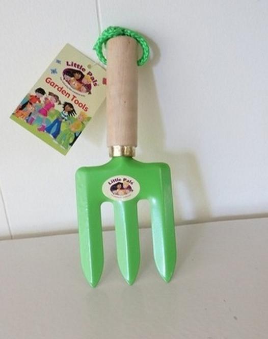Hand vork voor kinderen (groen)