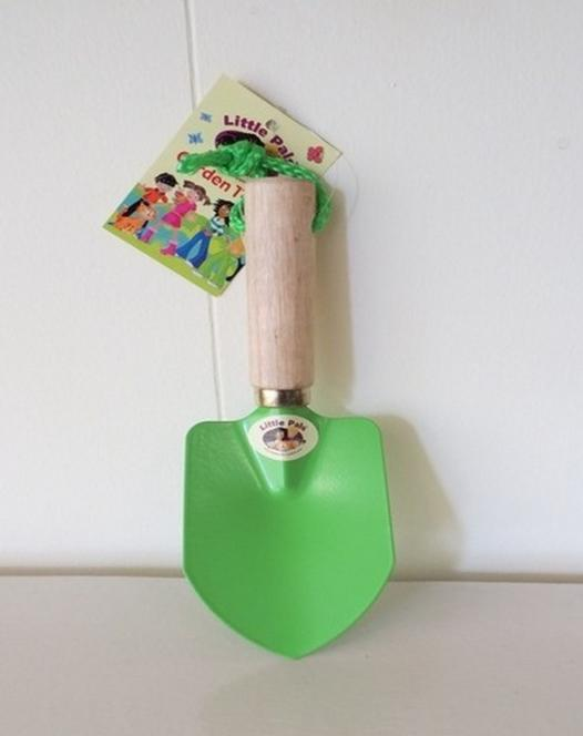 Troffel voor kinderen in groen
