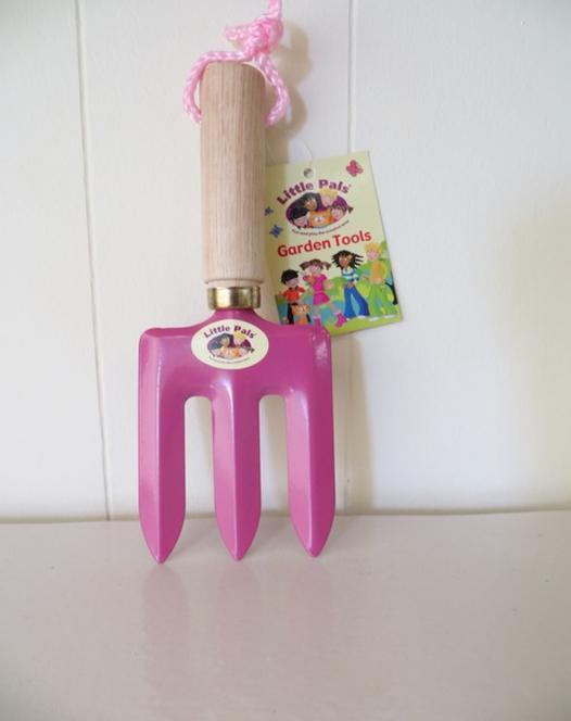 Hand vork voor kinderen (rose)