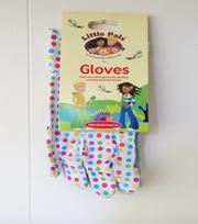 Tuinhandschoenen voor kinderen (stippen)