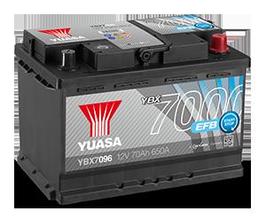 Batteries EFB YBXYBX7000