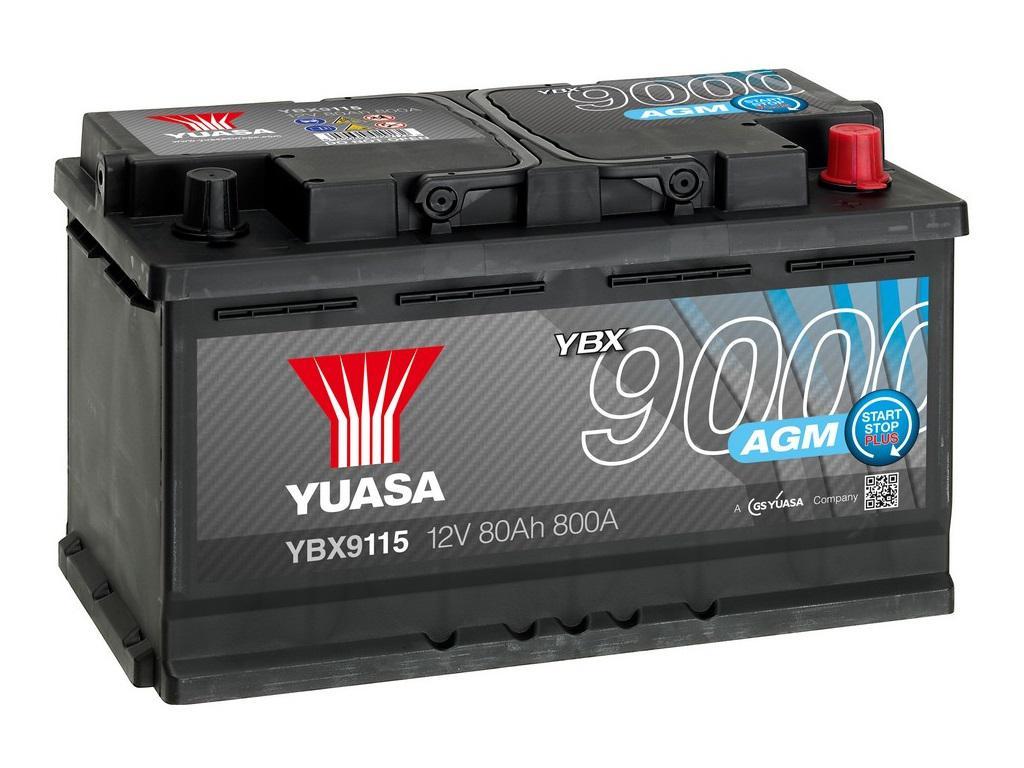 ybx9115 ybx9000 agm batteries automotive batteries. Black Bedroom Furniture Sets. Home Design Ideas