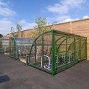 Newcastle Senior Asymmetric Shelter