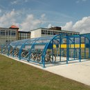 Newcastle Symmetric Shelter with Lattice Beams