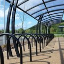 Lightwood Cycle Shelter - Run of Four