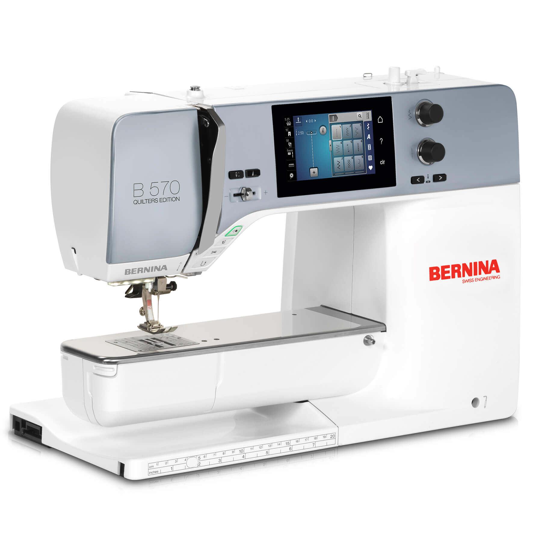 The New Bernina 570QE