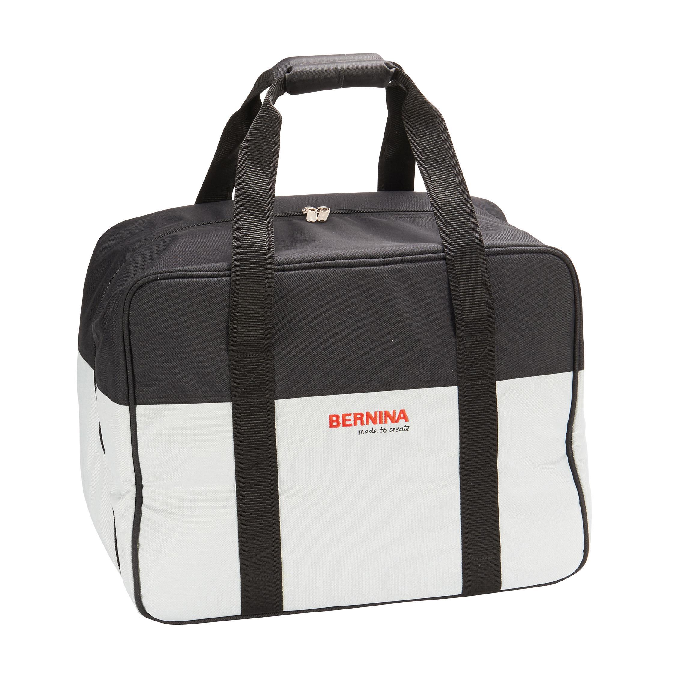 Bernina Sewing Machine Bag Black Silver a0bedf68e0672