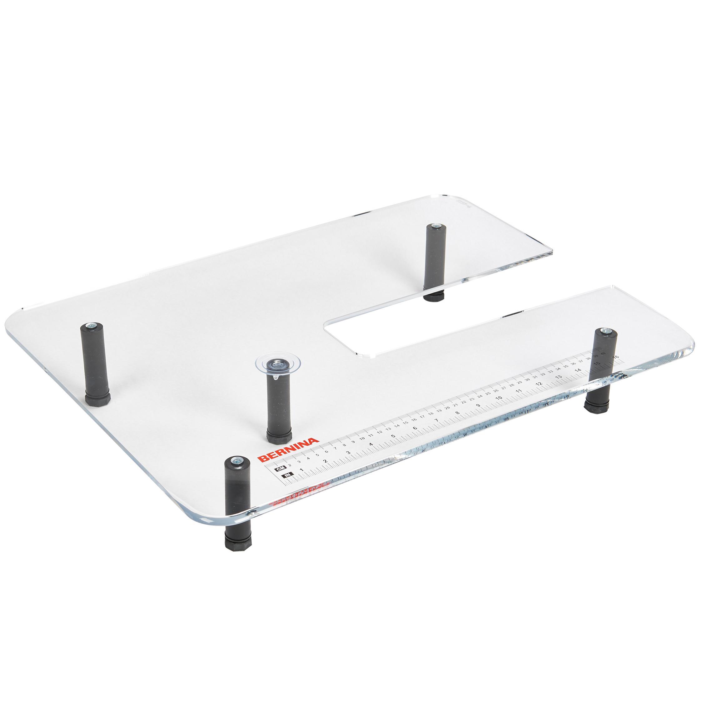 Bernina Plexiglass Extension Table for Quilting