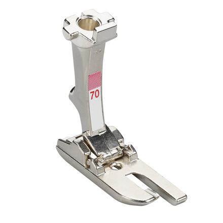 Bernina 4mm Lap seam foot # 70V