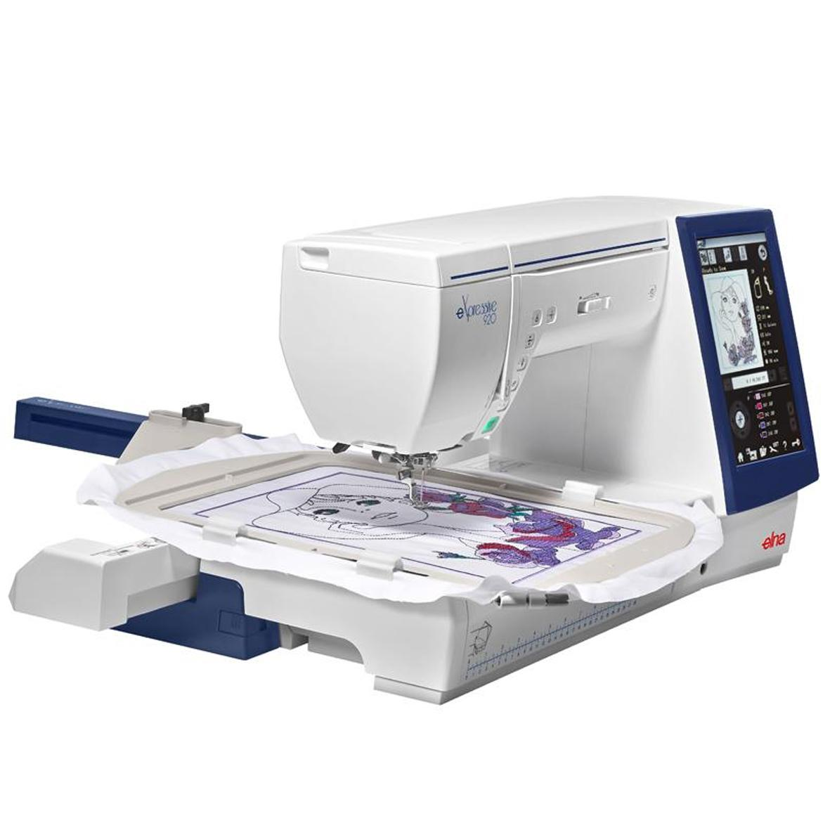 Elna eXpressive 920   Frank Nutt Sewing Machines Ltd   Buy ...