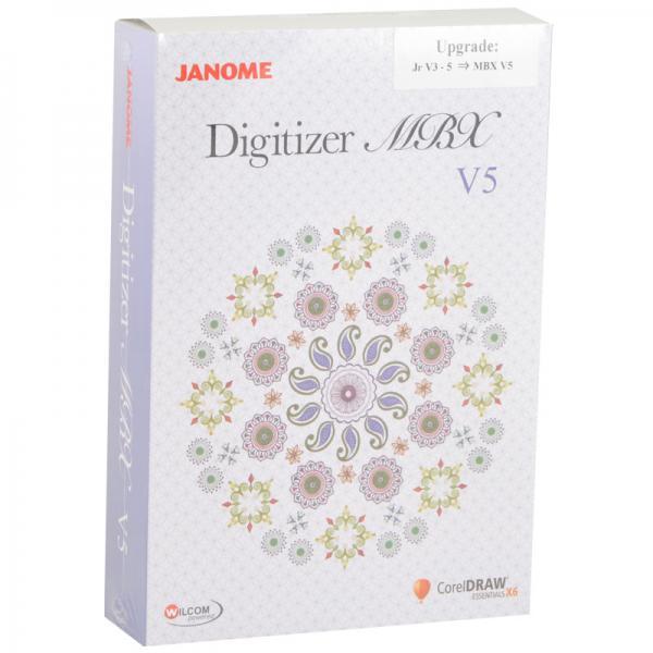 Janome Digitizer Jnr V4.5 Upgrade to MBX V5 (Full Version!)