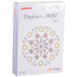 Janome Digitizer Jnr V4.5 Upgrade to MBX V5 (Full Version!)