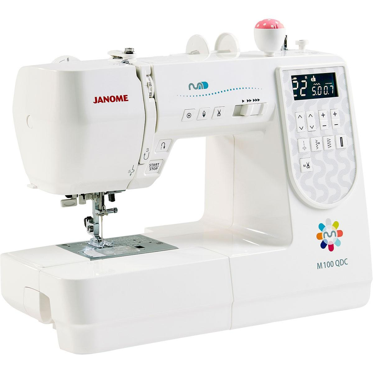 Janome m100qdc frank nutt sewing machines ltd buy online for Janome memory craft 9500