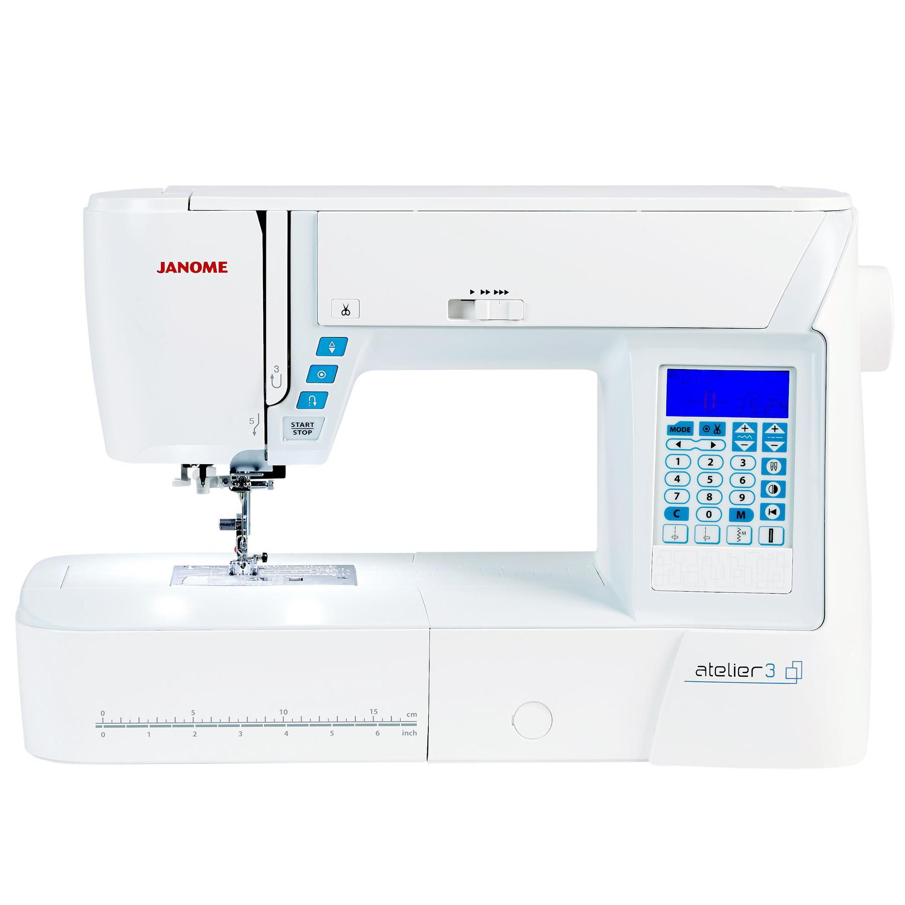 Janome atelier 3 frank nutt sewing machines ltd buy online for Janome memory craft 9500