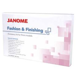 Janome Fashion and Finishing Accessory Kit