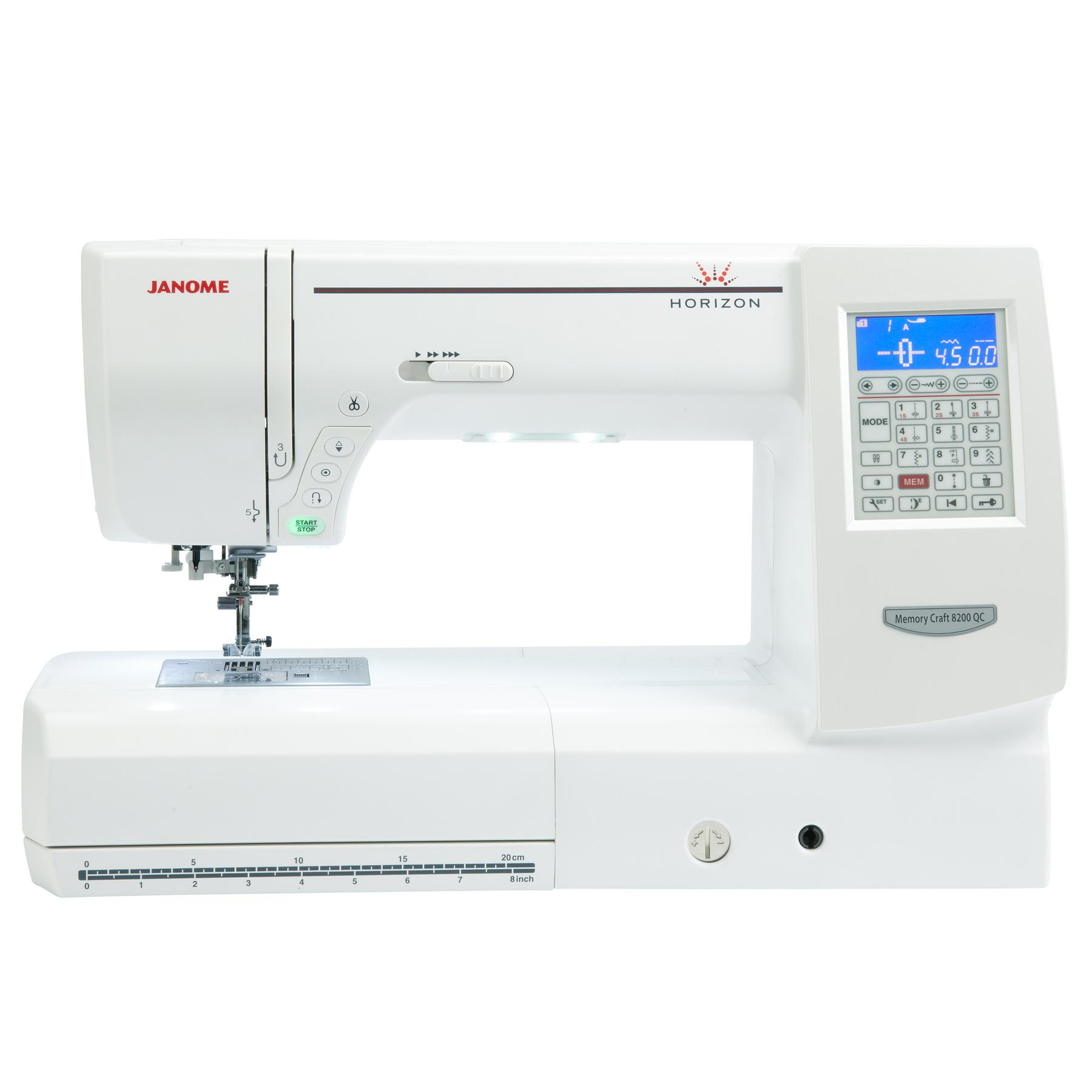 Janome Horizon 8200qcp Frank Nutt Sewing Machines Ltd