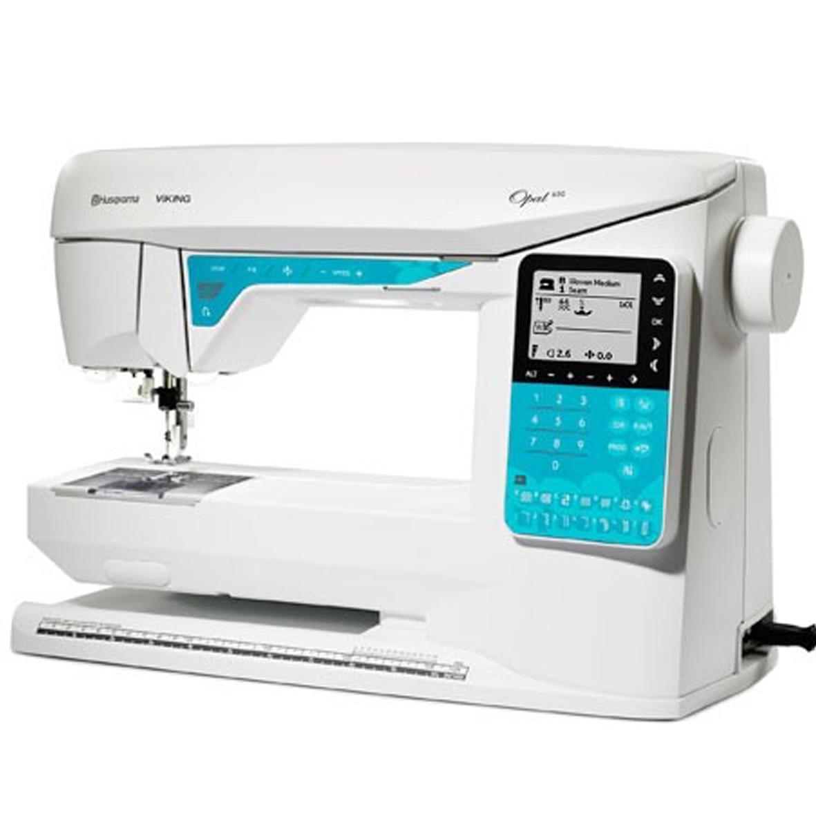 Husqvarna Opal 650 Sewing Machine   Frank Nutt Sewing ...