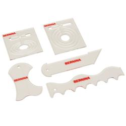 The Bernina Ruler Kit for Sit Down Models