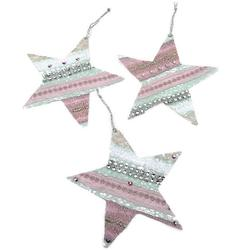 Embroidered Lace Stars - Course by Claire Muir
