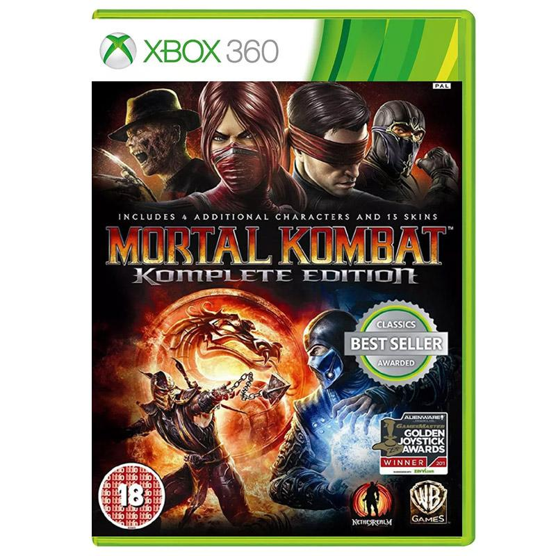 Xbox 360 T Games : Mortal kombat komplete game of the year edition xbox