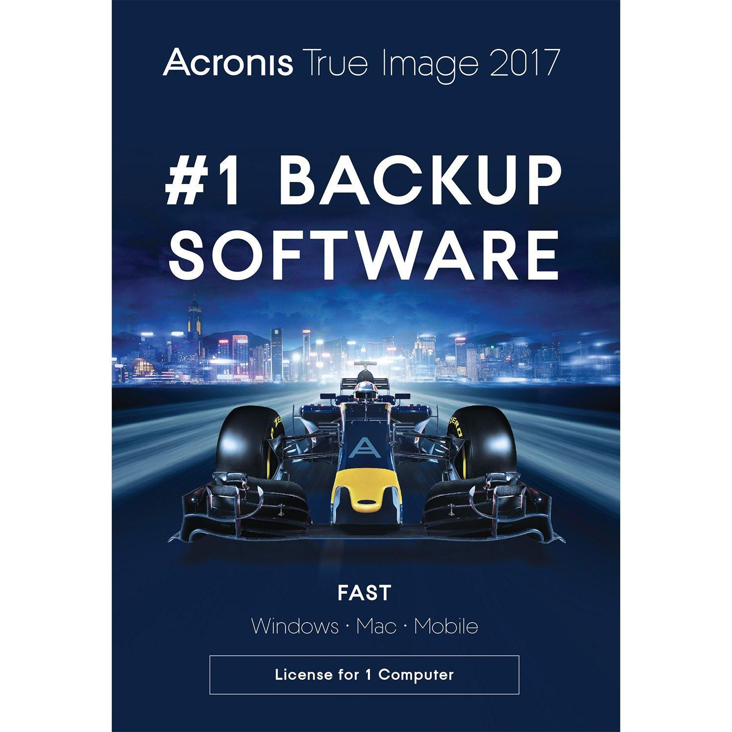 Acronis TIHXB2UKS True Image 2017 License - 1 Computer