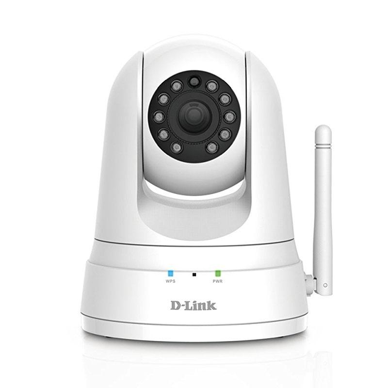 D-Link Wireless HD Pan & Tilt Day/Night WiFi Camera (DCS-5030L) - White