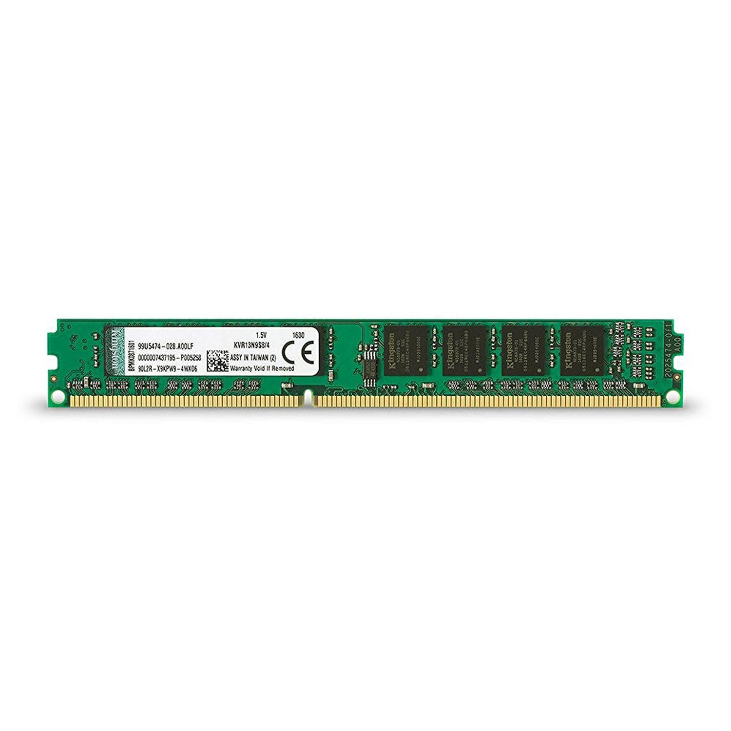 Kingston KVR 4GB 1333MHz DDR3 Non-ECC 240 Pin CL9 DIMM PC Memory Module