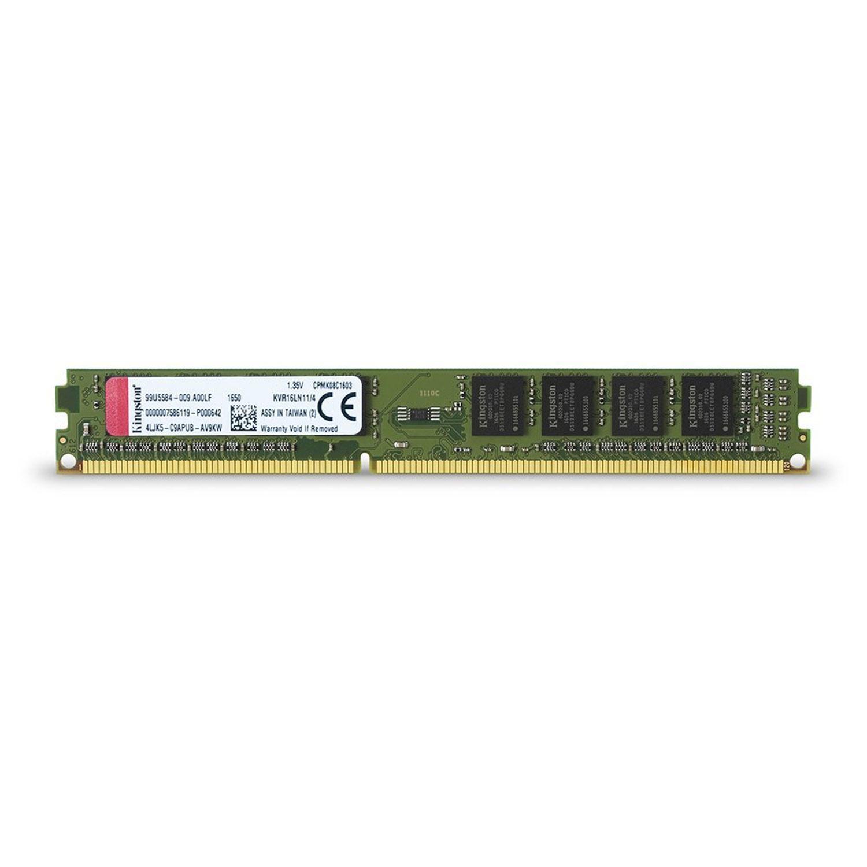 Kingston ValueRAM 4GB 1600MHz DDR3L Non-ECC 240 Pin CL11 DIMM PC Memory Module
