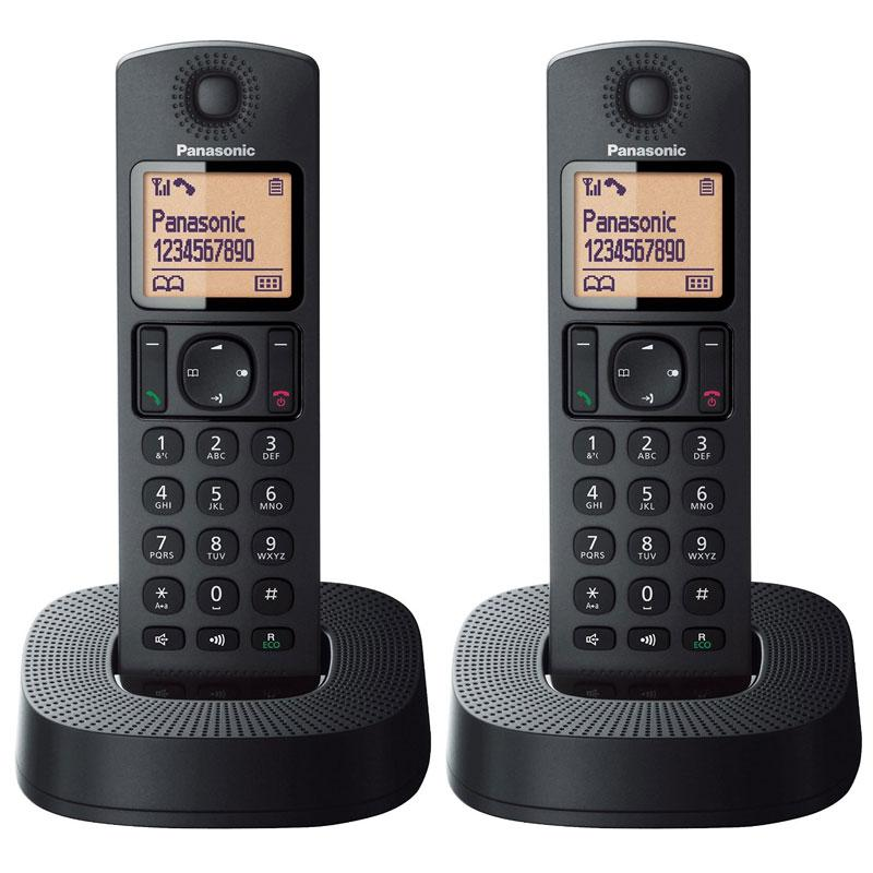 Panasonic Digital Cordless Phone - Black (KX-TGC312EB)