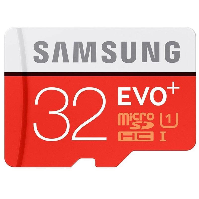 Samsung 32GB EVO Plus Micro SD Card (SDHC) - 80MB/s