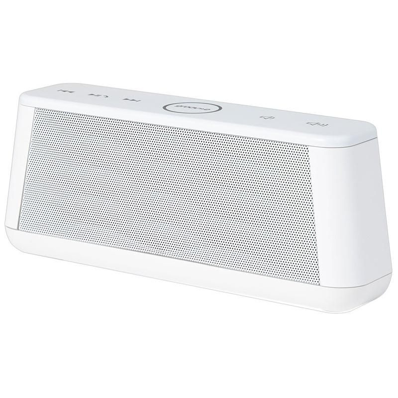 Groov-e Sound Wave Bluetooth Speaker with Mic - White