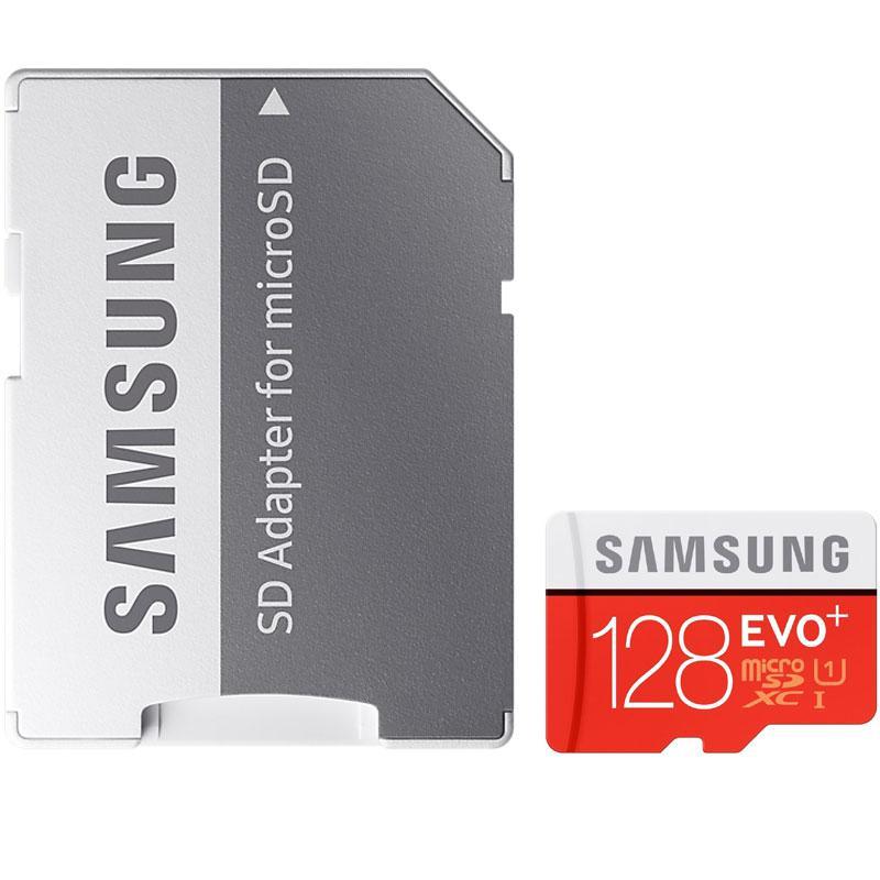 Samsung 128GB EVO Plus Micro SD Card (SDXC) UHS-I U1+ Adapter - 80MB/s