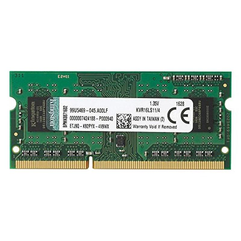 Kingston KVR 4GB 1600MHz DDR3L PC Memory