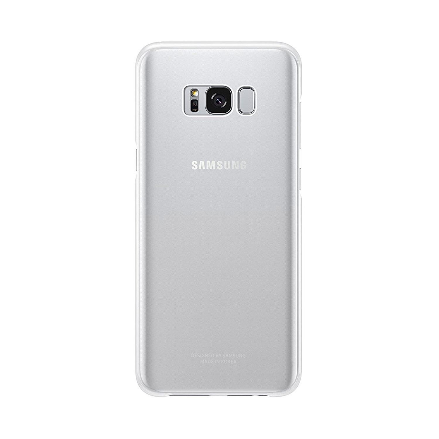 Samsung Silver Galaxy S8 Cover - Clear