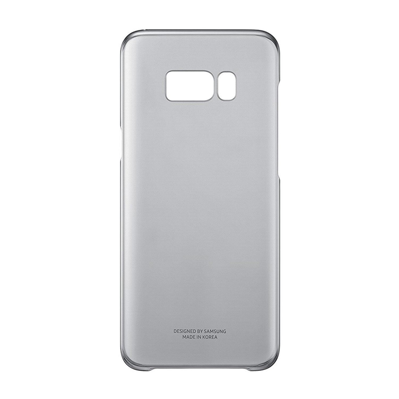 Samsung Black Galaxy S8 Plus Cover - Clear