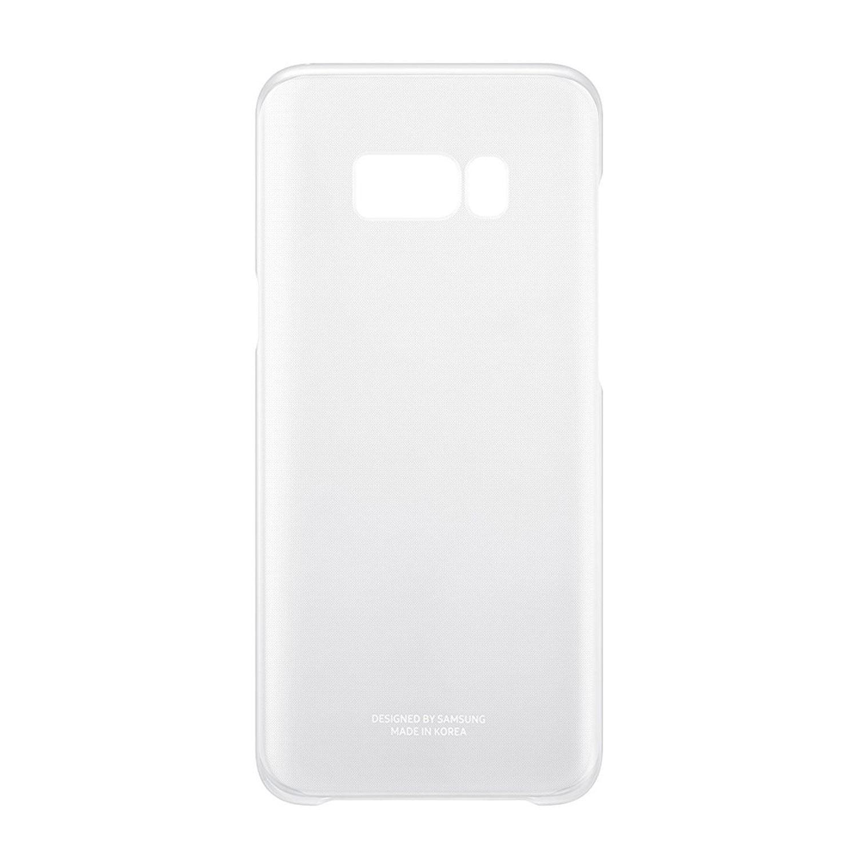 Samsung Silver Galaxy S8 Plus Cover - Clear