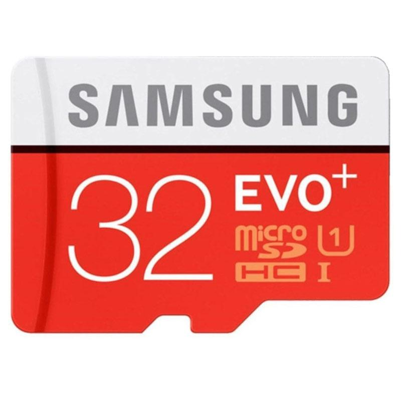 Samsung 32GB EVO Plus Micro SD Card (SDHC) - 80MB/s - FFP