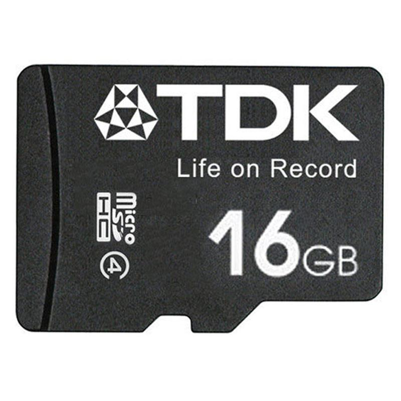 TDK 16GB Micro SD Card (SDHC) - 30MB/s