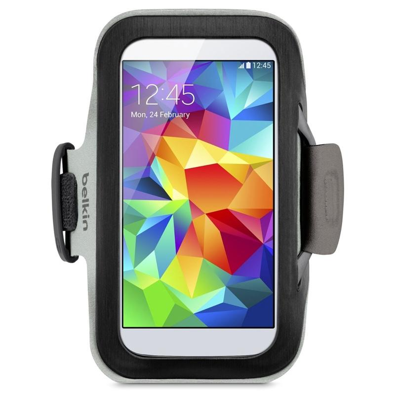 Belkin Sport-Fit Armband for Galaxy S5 - Black