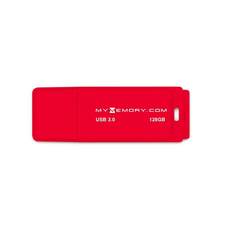 MyMemory 128GB 3.0 USB Stick - Rot