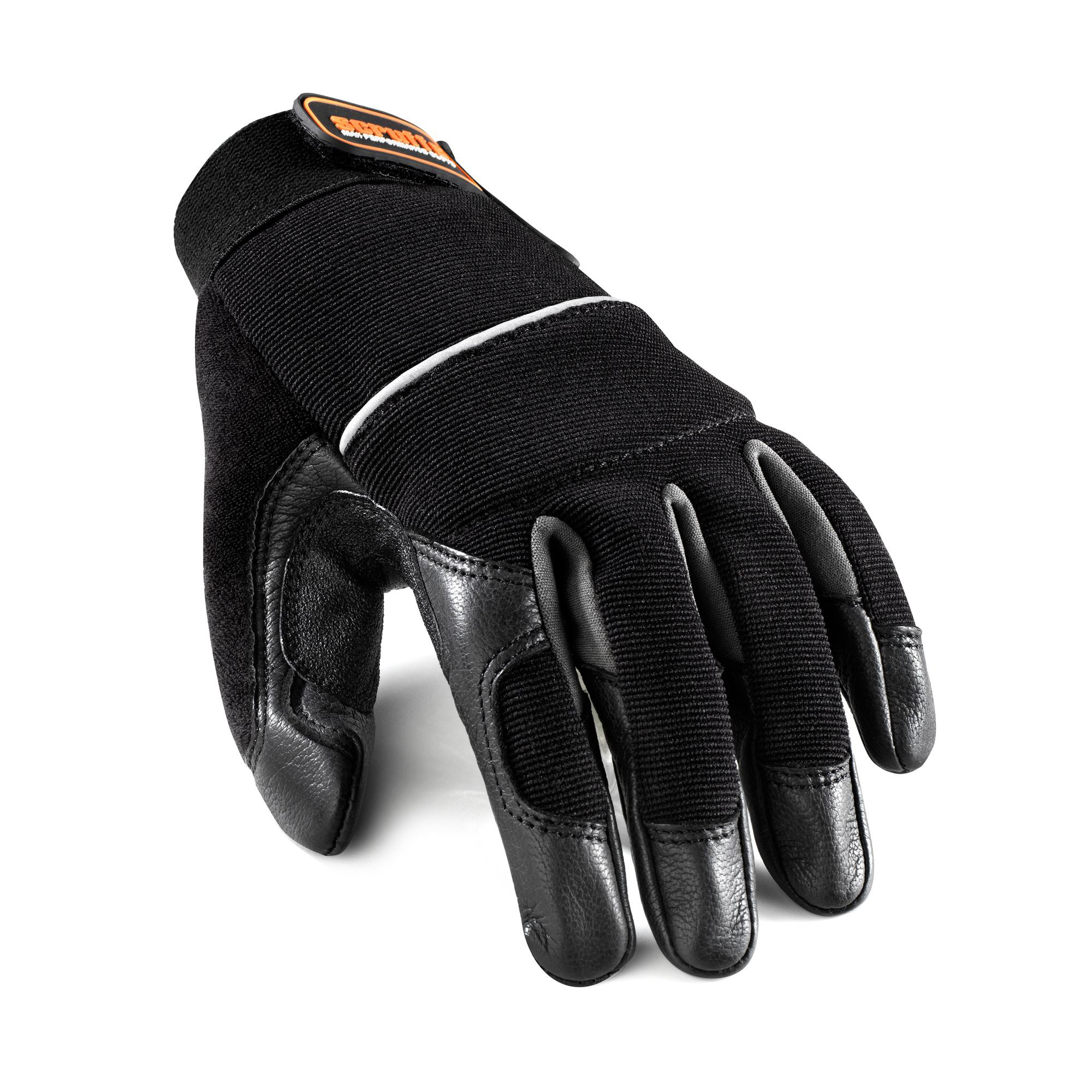 Leather Trim Gloves