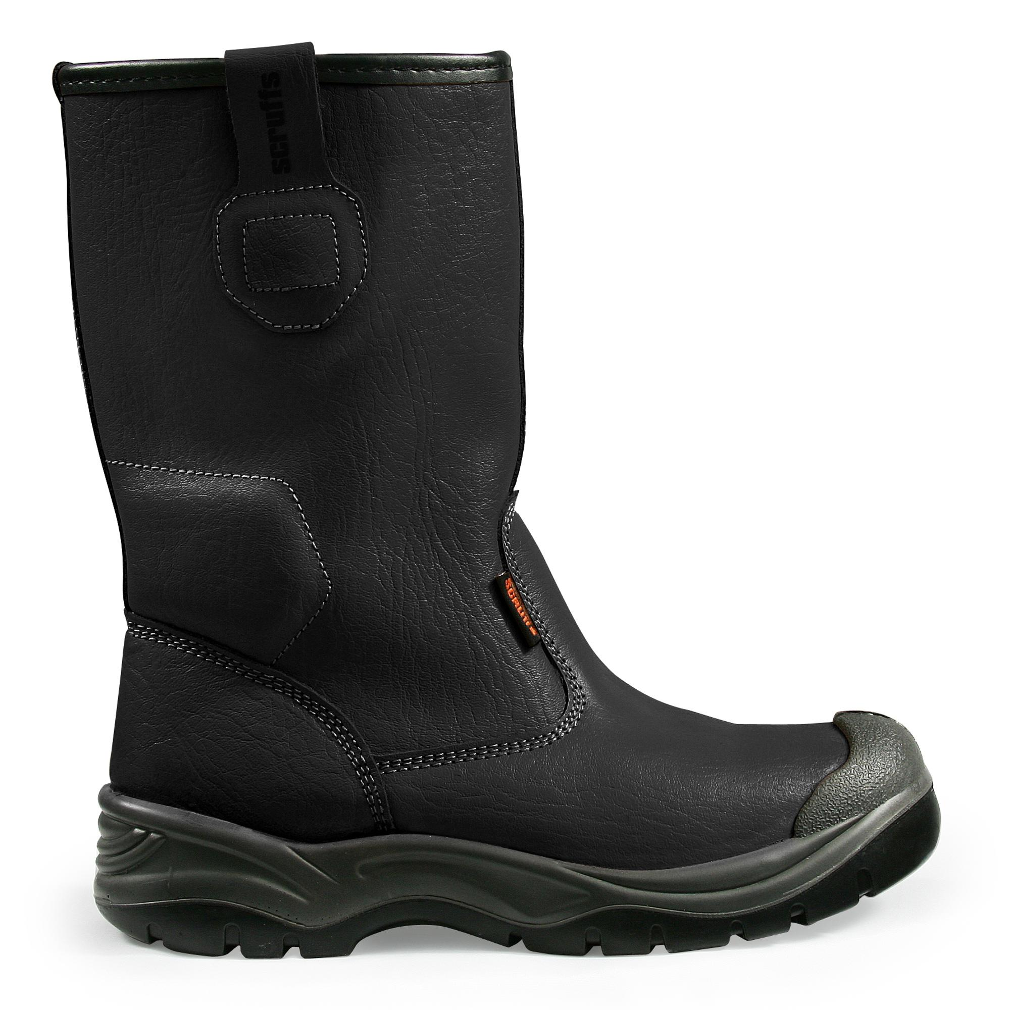 Gravity Rigger Boots Black Size 12