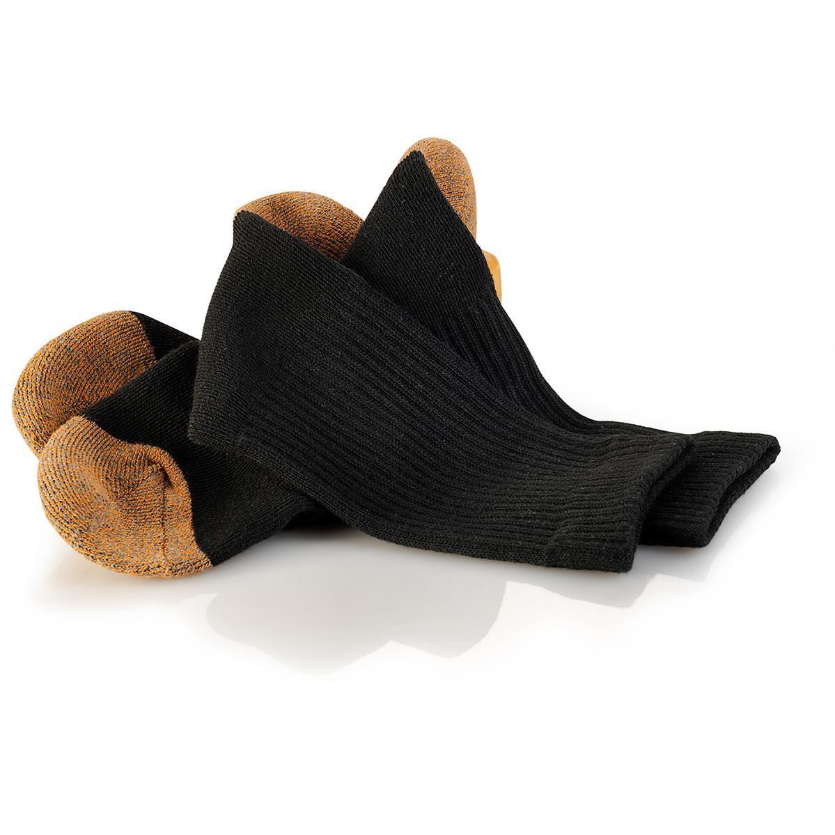 Scruffs Worker 3 Pack Of Socks Black