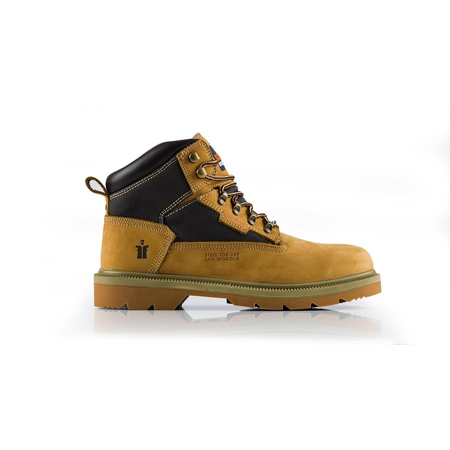 Twister Safety Boots Tan Size 7
