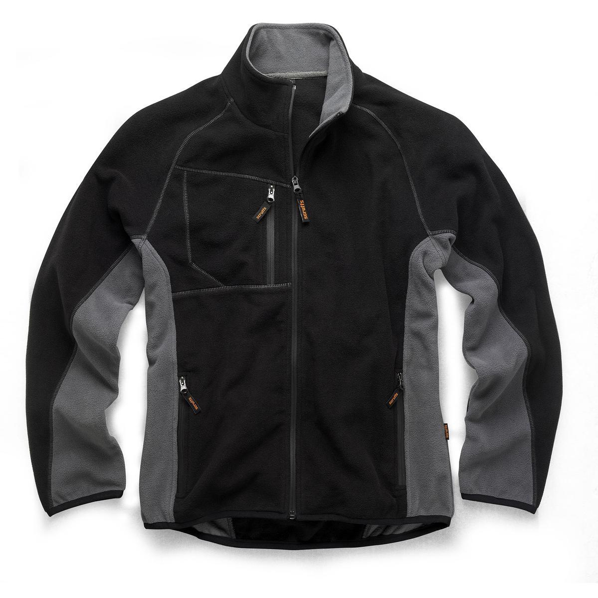 Worker Fleece Grey & Black