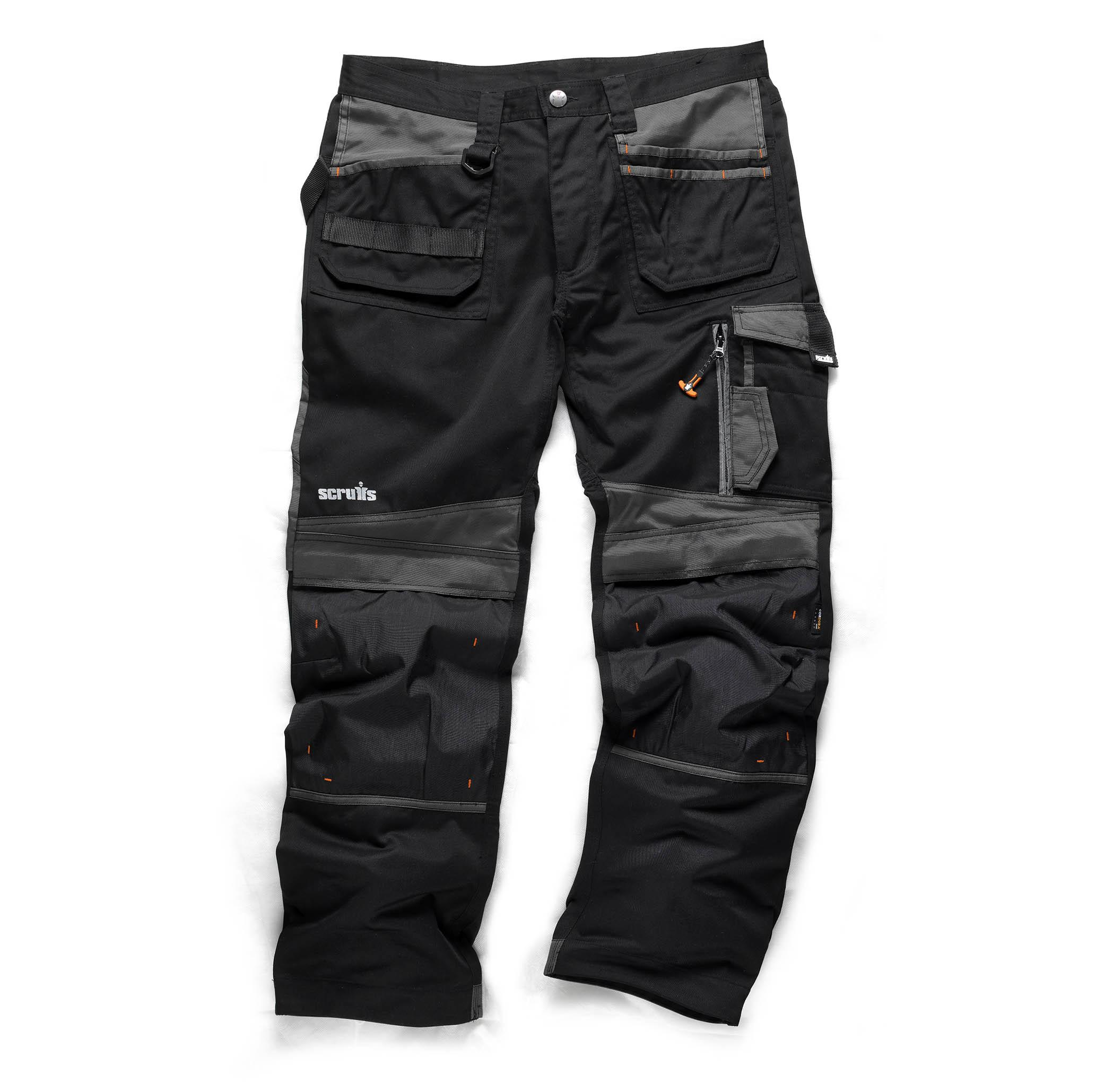 3D Trade Work Trousers Black 30L