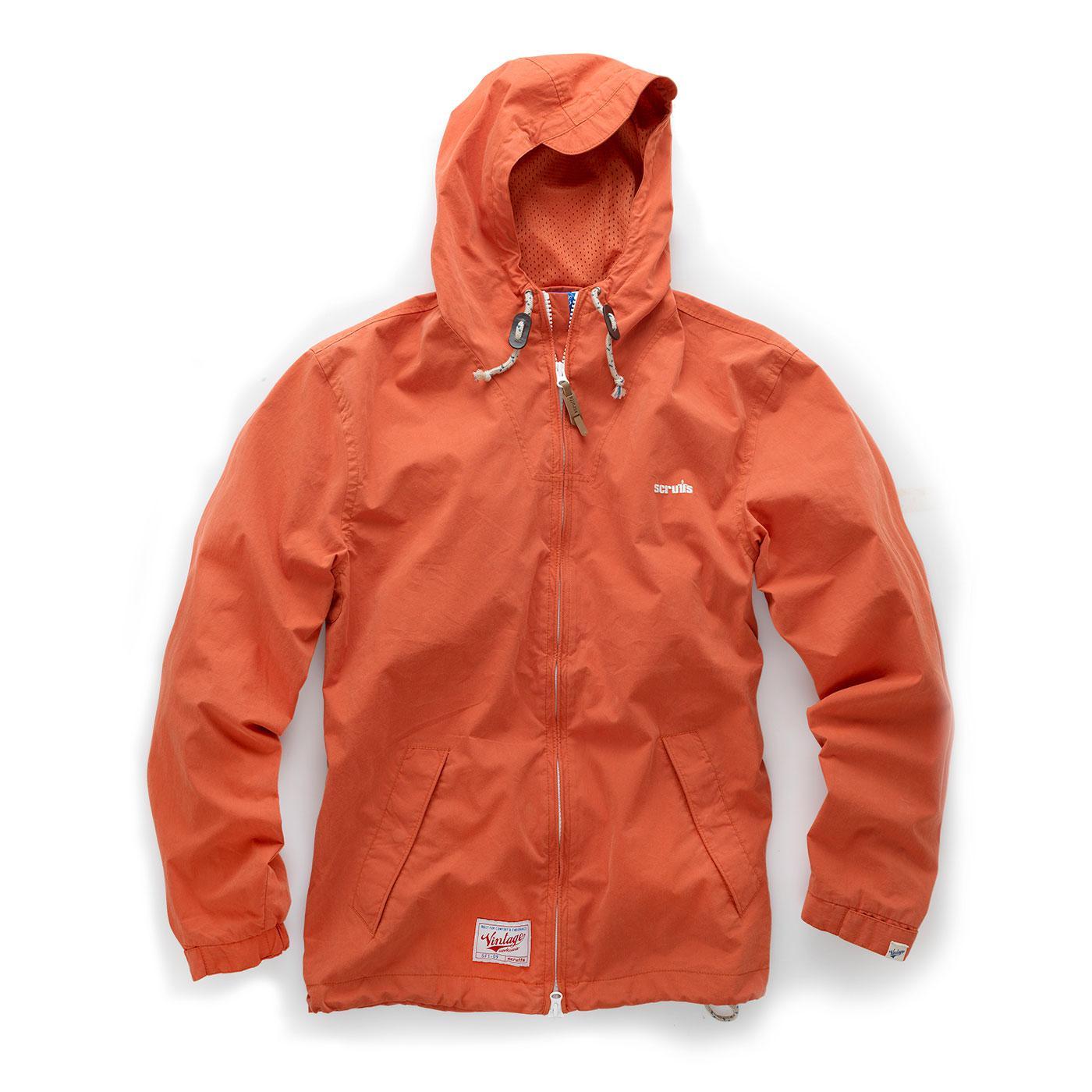 Zip-Thru Mac - Orange